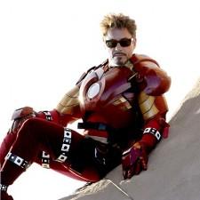 Iron Man Donut
