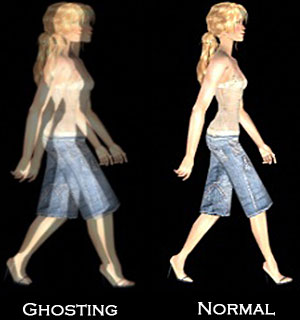 Ghosting vs. Normal