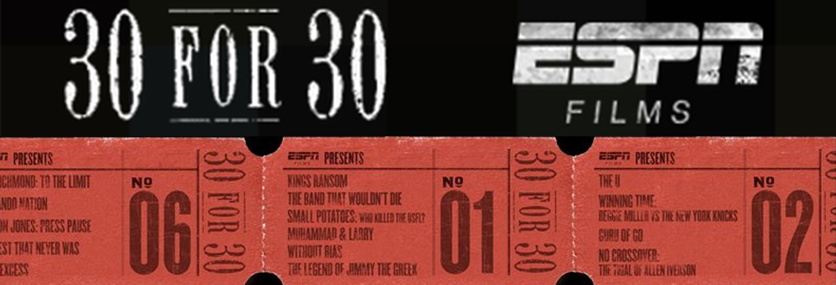 Netflix Alert: ESPN's 30 for 30