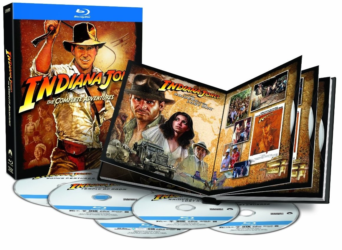 indiana jones bluray Major Contest Alert: Win Indiana Jones: The Complete Adventures on Blu ray!