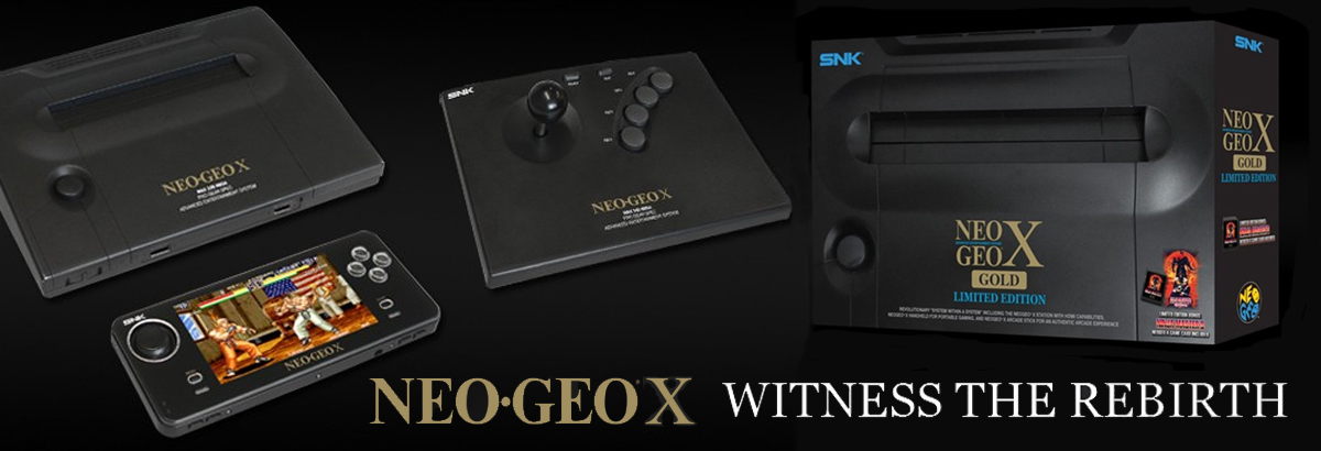Behold the NEO GEO X Gold: A New Game System for the Holidays