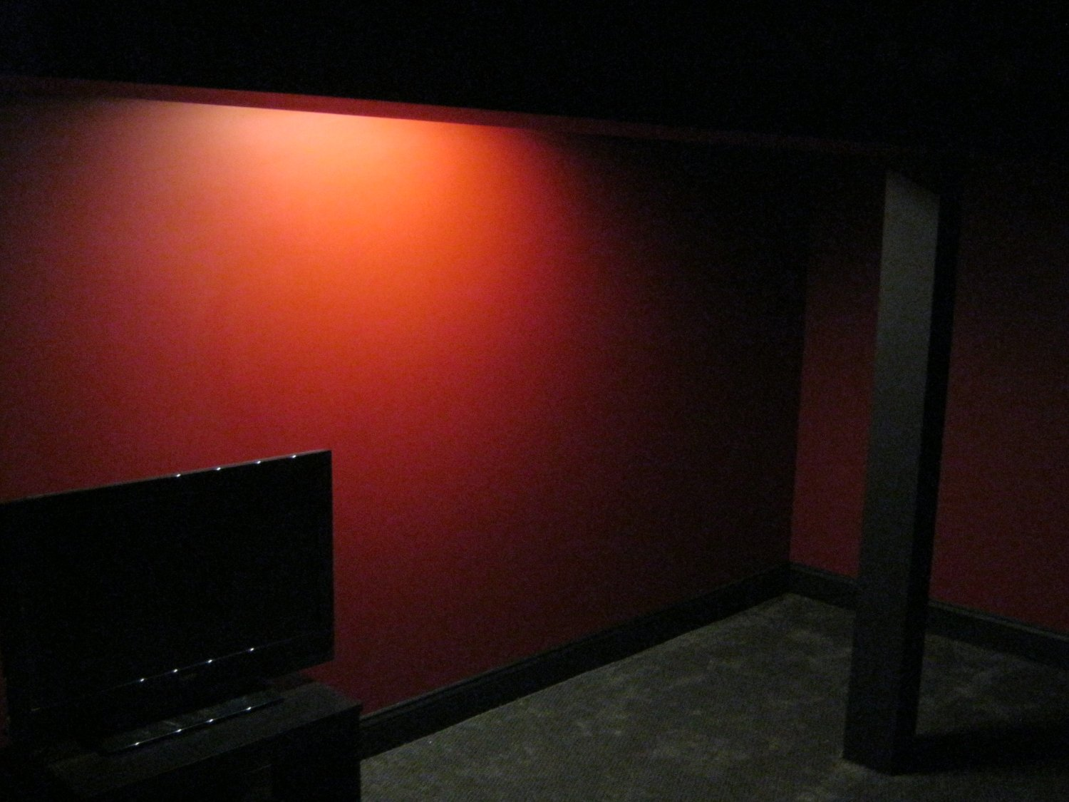 alcove dark2 Building a Home Theater, Step 5: The When Will This Ever Be Done? Phase