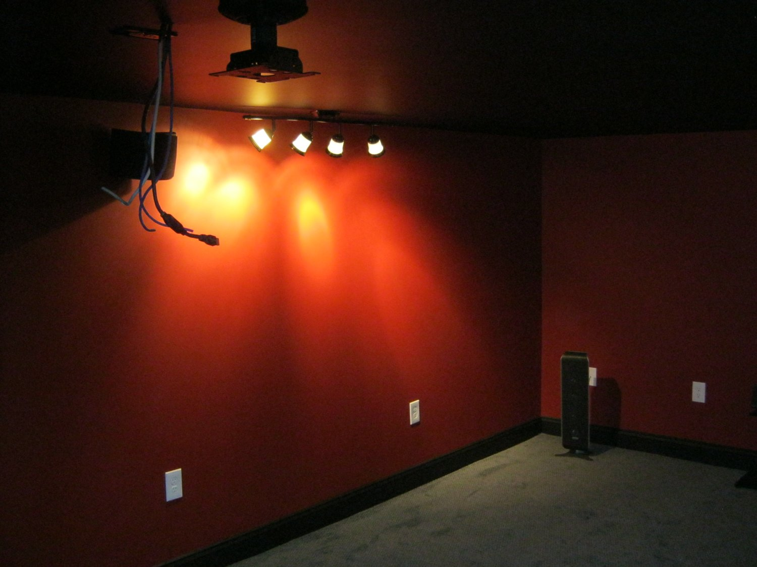 home theater step lighting. Building A Home Theater, Step 5: The \ Home Theater Step Lighting O