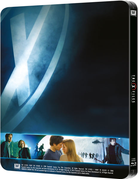 X Files SteelBook back
