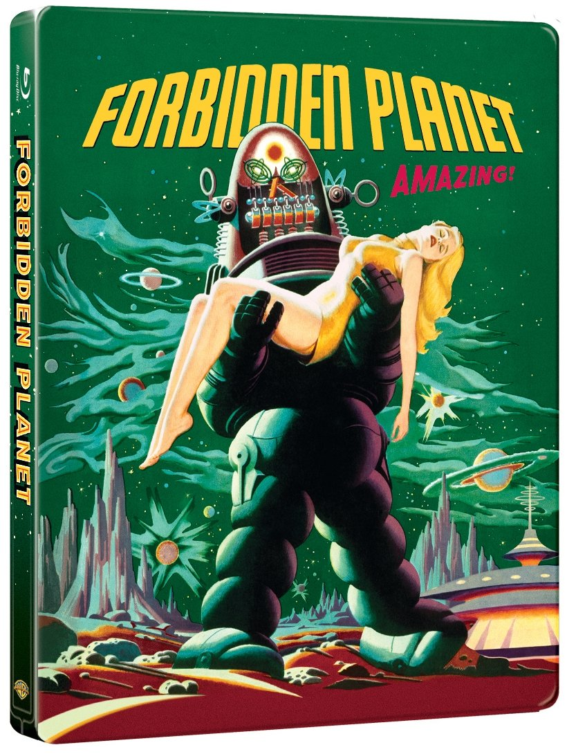 Forbidden Planet SteelBook front cover