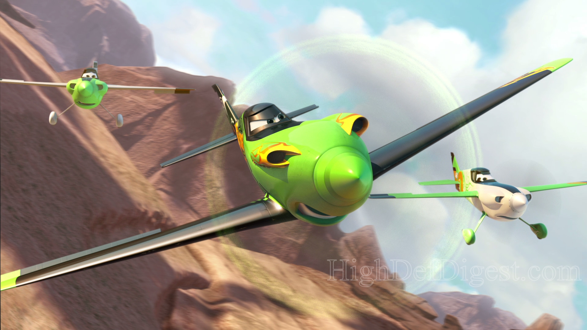 Planes 3d Blu Ray Review High Def Digest