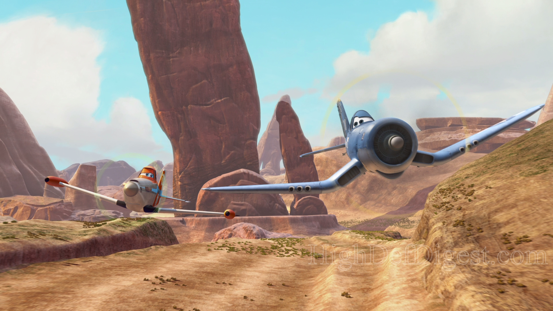 Planes Blu Ray Review High Def Digest