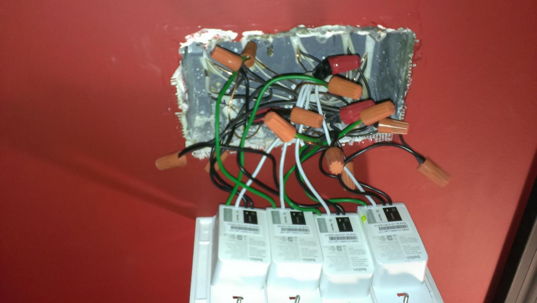 WeMo Installation - Wiring