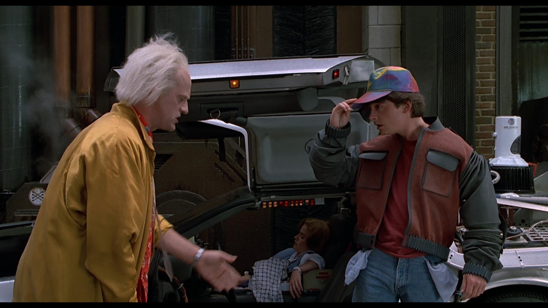 BTTF2 - Inside Out Pants