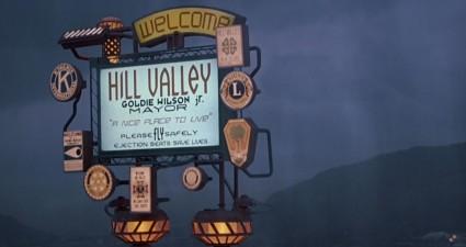 BTTF2 5 - Hill Valley Sign