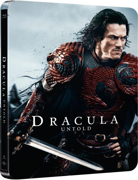 Dracula Untold SteelBook front