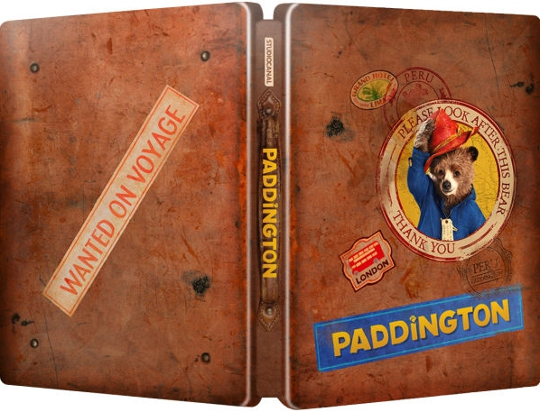 Paddington SteelBook exterior