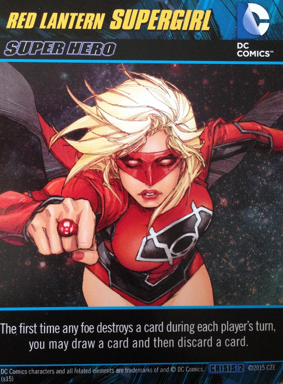 Red Lantern Supergirl
