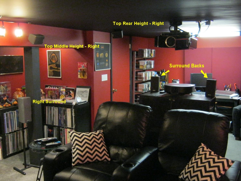 Right Rear of Room