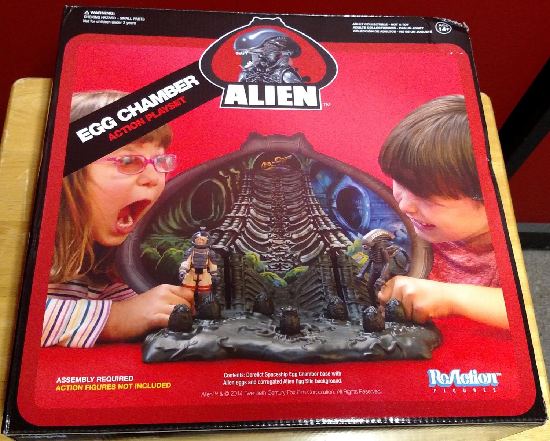 Alien Egg Chamber - Box Front