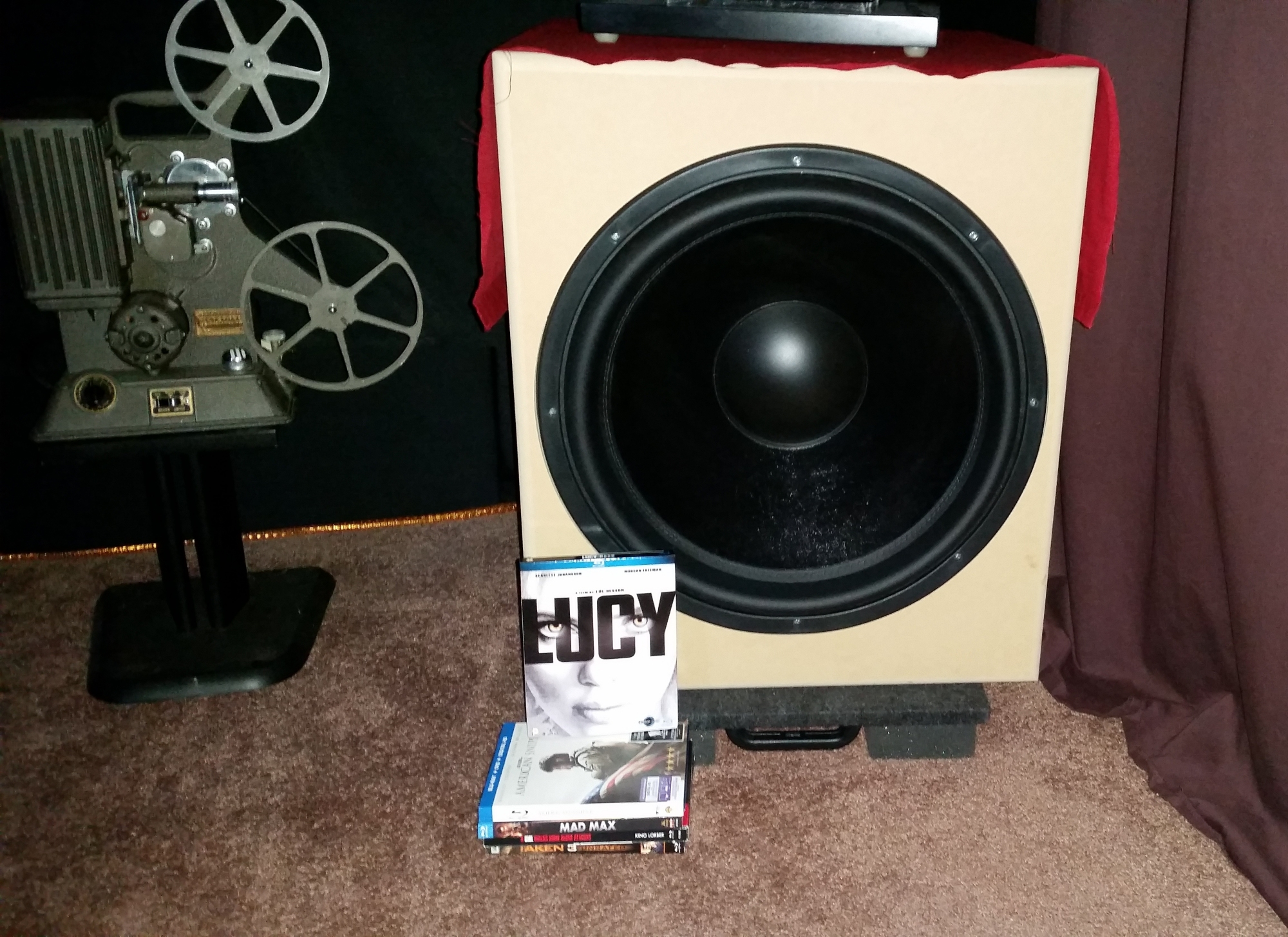 DIY Subwoofer in Progress