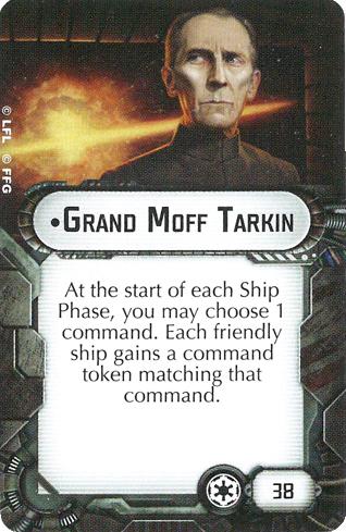 Grand Moff Tarkin card