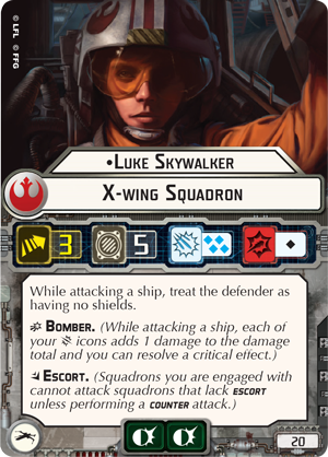 Luke Skywalker card