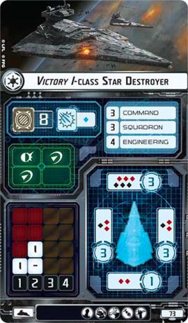 Victory I card