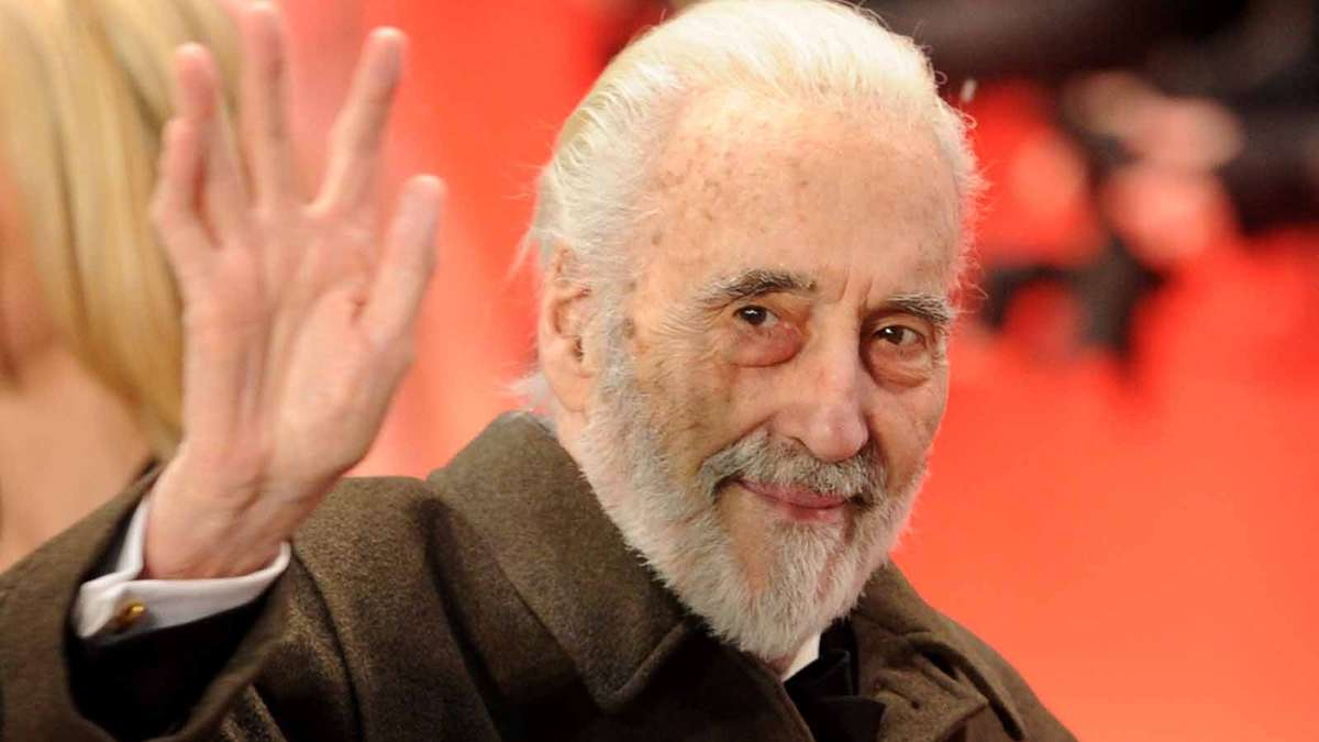 R I P  Christopher Lee...