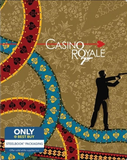James Bond Casino Royale SteelBook