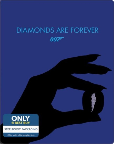 James Bond Diamonds Are Forever SteelBook