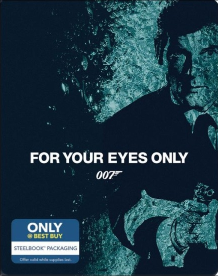 James Bond For Your Eyes Only SteelBook