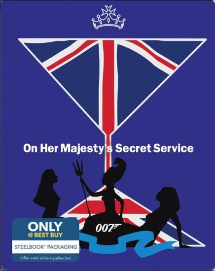 James Bond On Her Majesty's Secret Service SteelBook