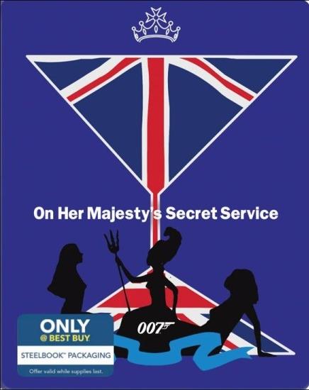 James Bond On Her Majesty's Secret Service SteelBook
