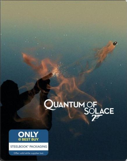 James Bond Quantum of Solace SteelBook