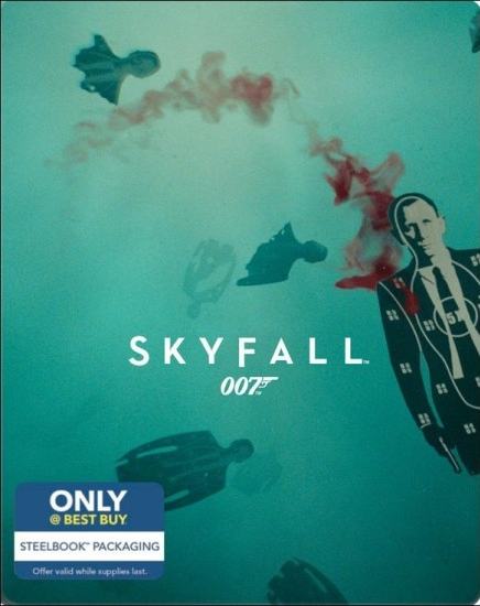 James Bond Skyfall SteelBook