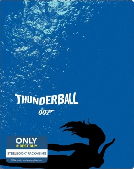 James Bond Thunderball SteelBook
