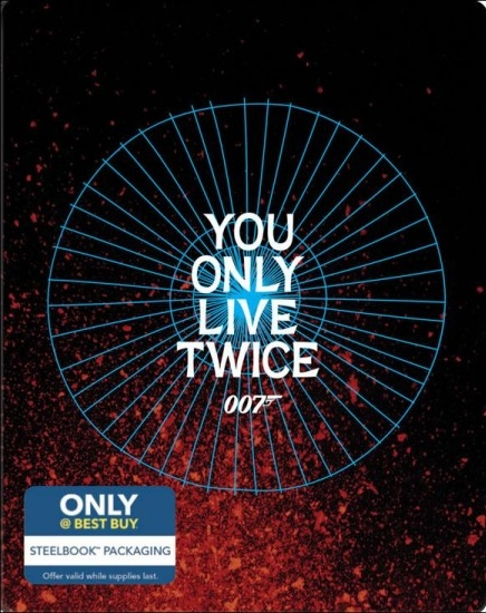 James Bond You Only Live Twice SteelBook