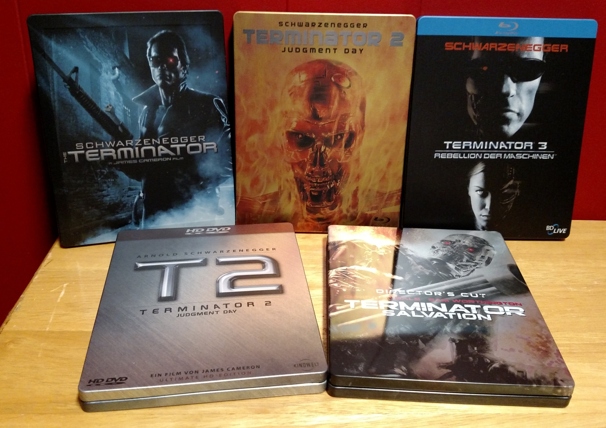 Older Terminator SteelBooks