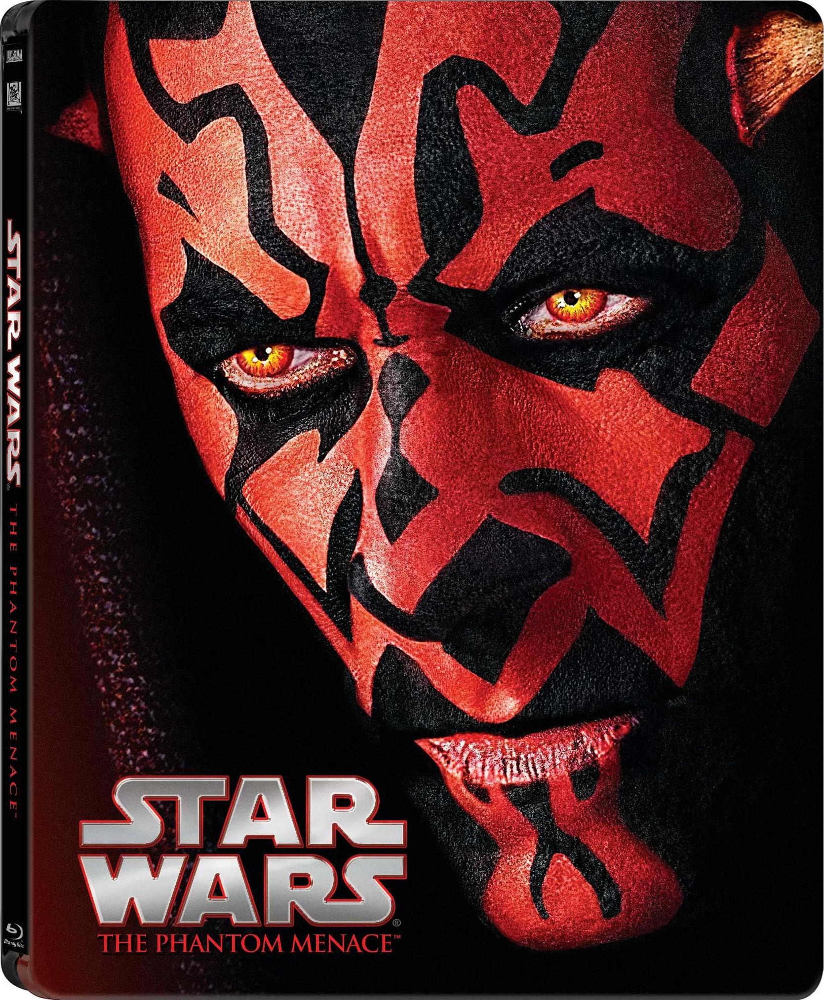 Star Wars Phantom Menace SteelBook