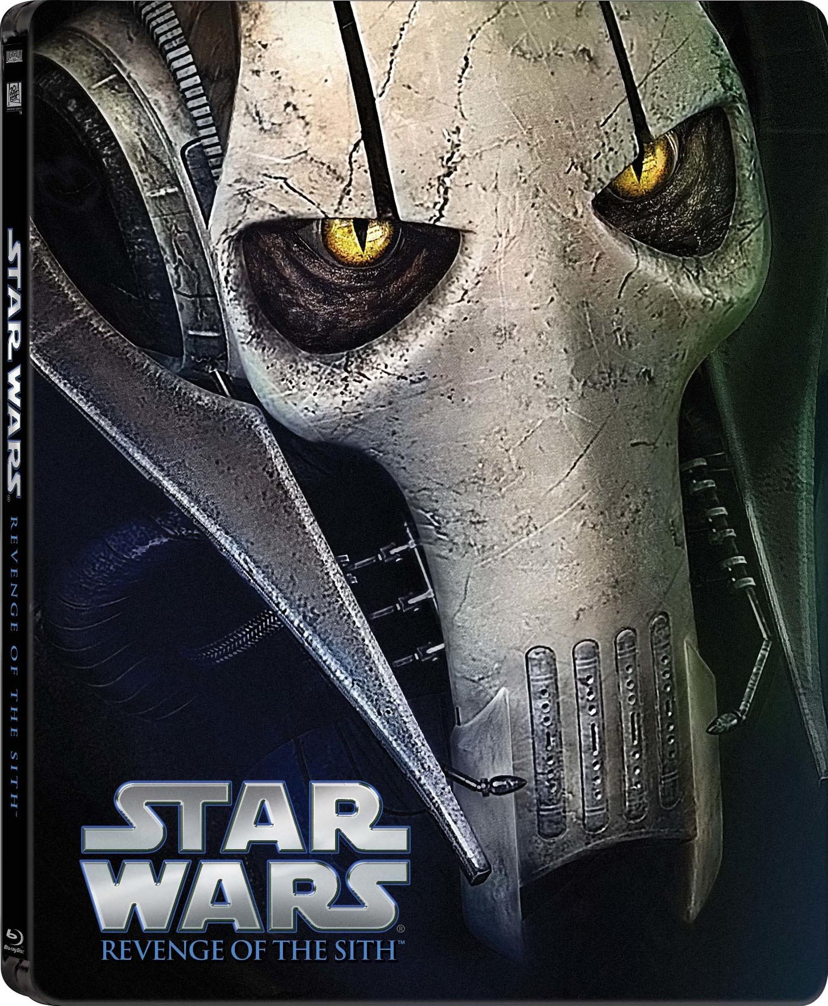 Star Wars Revenge of the Sith SteelBook