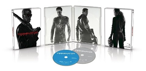 Terminator Genisys North American SteelBook all sides