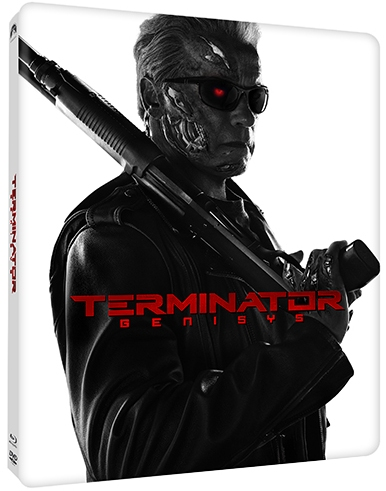 Terminator Genisys North American SteelBook front