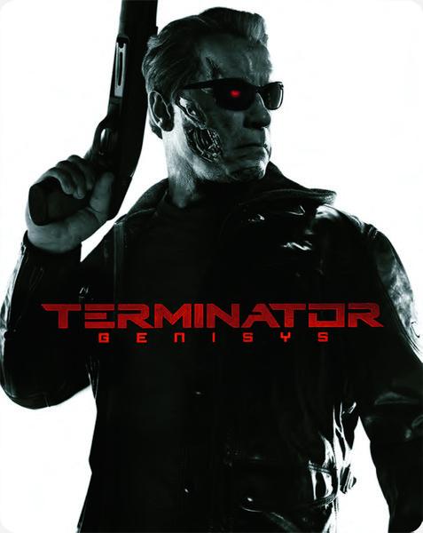 Terminator Genisys Zavvi SteelBook 2 front