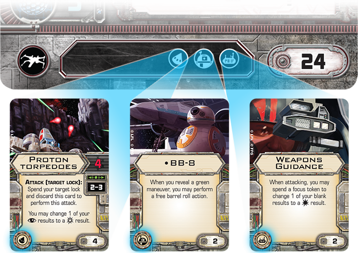 Upgrading Your X-Wing