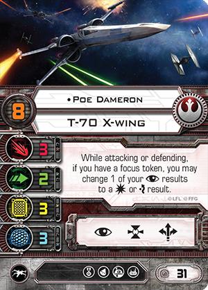 Poe Dameron card