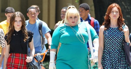 119358, Rebel Wilson, Anna Kendrick, Brittany Snow, Kelley Jakle, Shelley Regner, Hannah Mae Lee and Hailee Steinfeld seen filming Pitch Perfect 2 in Baton Rouge. Baton Rouge, Louisiana - Tuesday May 20, 2014. Photograph: Thibault Monnier, Nathanael Jones, PacificCoastNews.com. Los Angeles Office: +1 310.822.0419 London Office: +44 208.090.4079 sales@pacificcoastnews.com FEE MUST BE AGREED PRIOR TO USAGE