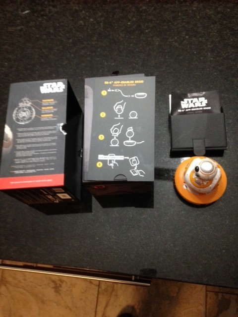 BB-8 Box Contents