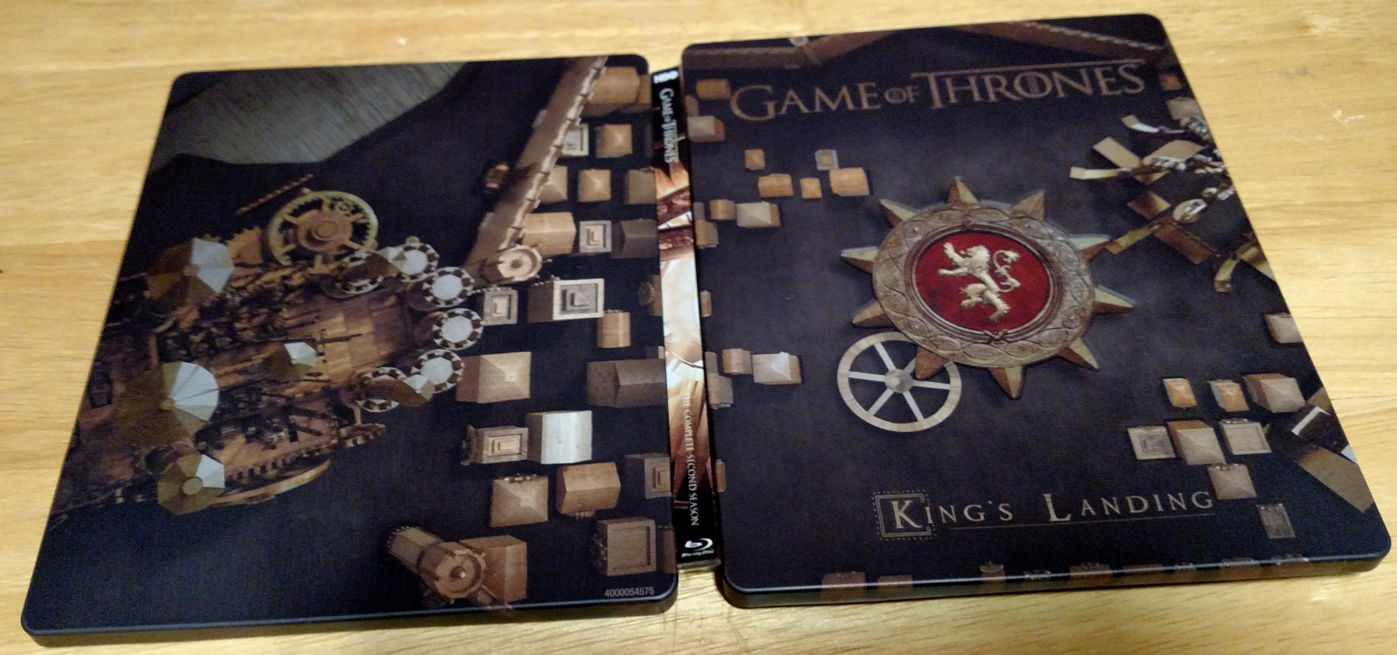 Game of Thrones S2 SteelBook Open