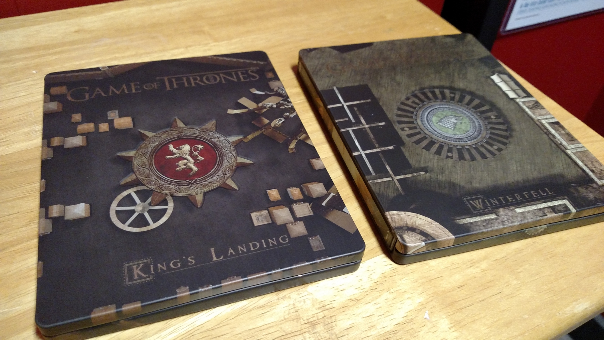Game of Thrones SteelBooks No Case