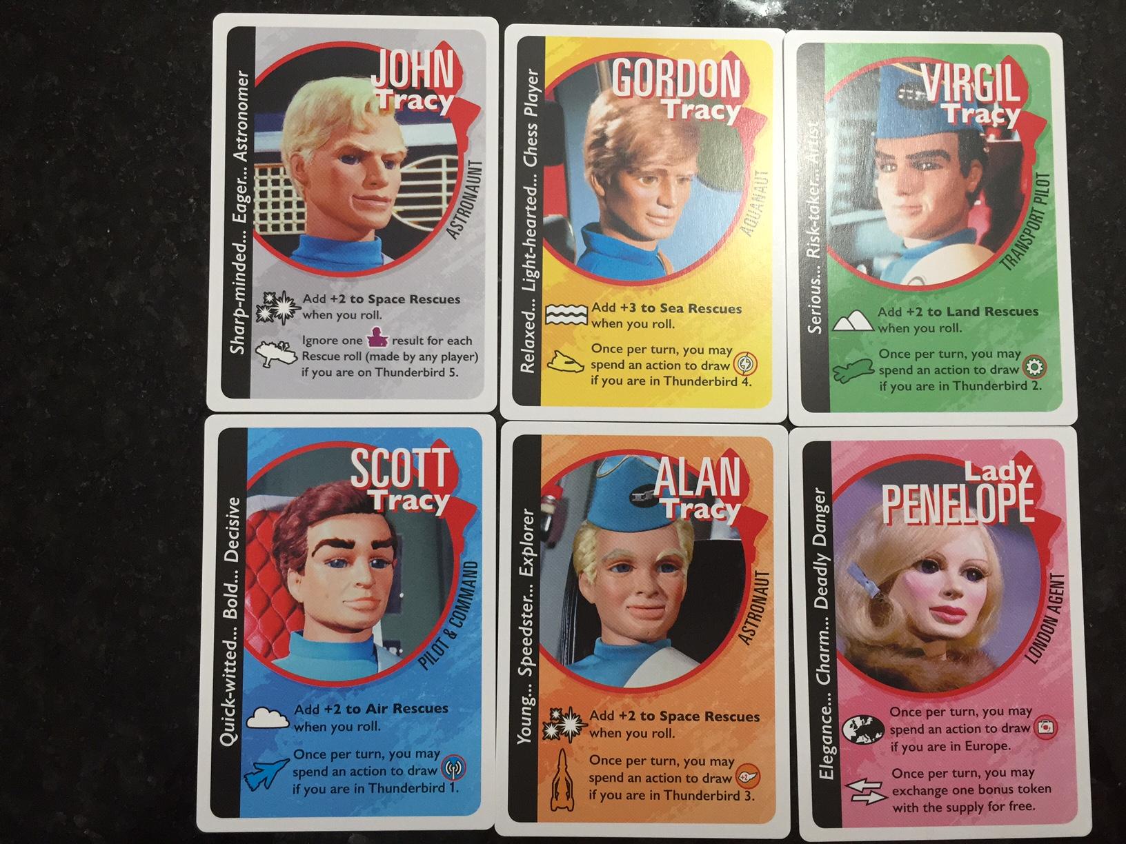 Thunderbirds Characters