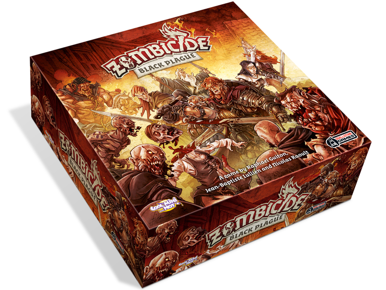Zombicide Black Plague Board Game Box