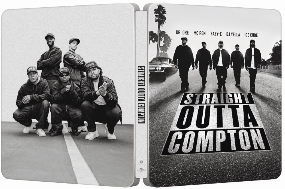 Straight Outta Compton SteelBook