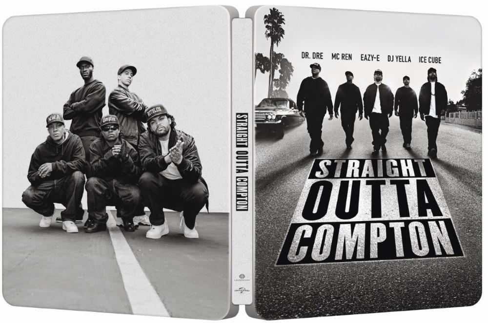 Straight Outta Compton SteelBook
