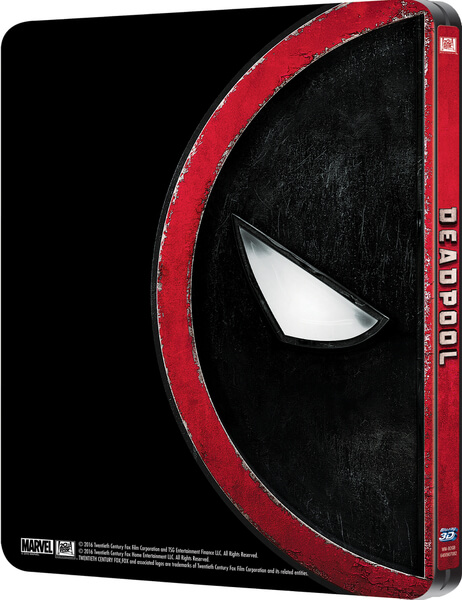 Deadpool SteelBook Blu-ray back